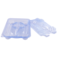 Pharmaceutical dialysis catheters set PETG  thermoformed box