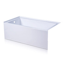 Deep Soaking Alcove Tub