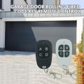 In Stock Universal Cloning Electric Gate Garage Door Opener Garage Door Remote Control Key 433mhz Auto Key Wireless Controller