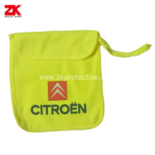 Safety bag safety vest's bag for car useing