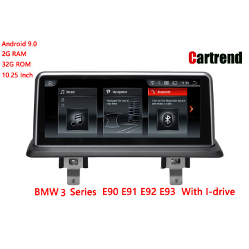 BMW E90 E91 E92 E93 Android дисплейі