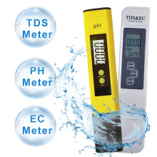PH Tester+TDS& EC Meter/ TDS-3 Meter/ PH Paper Tester Meter Measure Water Quality Purity for Drinking /Pool /Aquarium