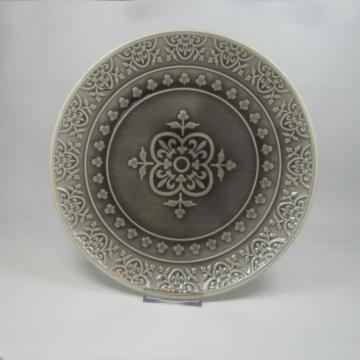 Embossed Stoneware Dinner Set