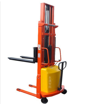 Electric Forklift Pallet 2ton Semi Electric Stacker
