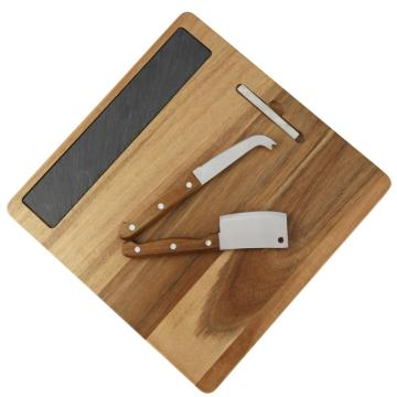 Square cheese tools set