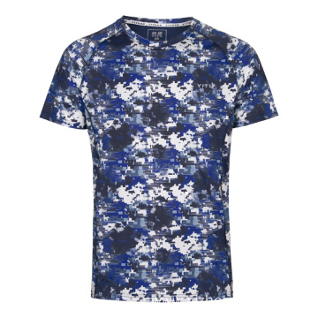 Moisture Wicking Dry Fit T Shirt Mosaic