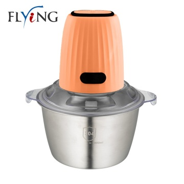 Small Electric Food Chopper Stainless Steel Bowl