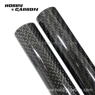 3k gloss carbon fiber tube