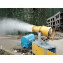 Mist cannon machine for street disinfection / construction