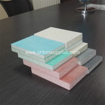 Impact-resistant Fireproof Panel 20mm Magnesium oxide Board