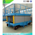 1.0t 10m Mobile Self-propelled Man Scissor Lift