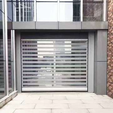 Aluminum high-speed roll up doors