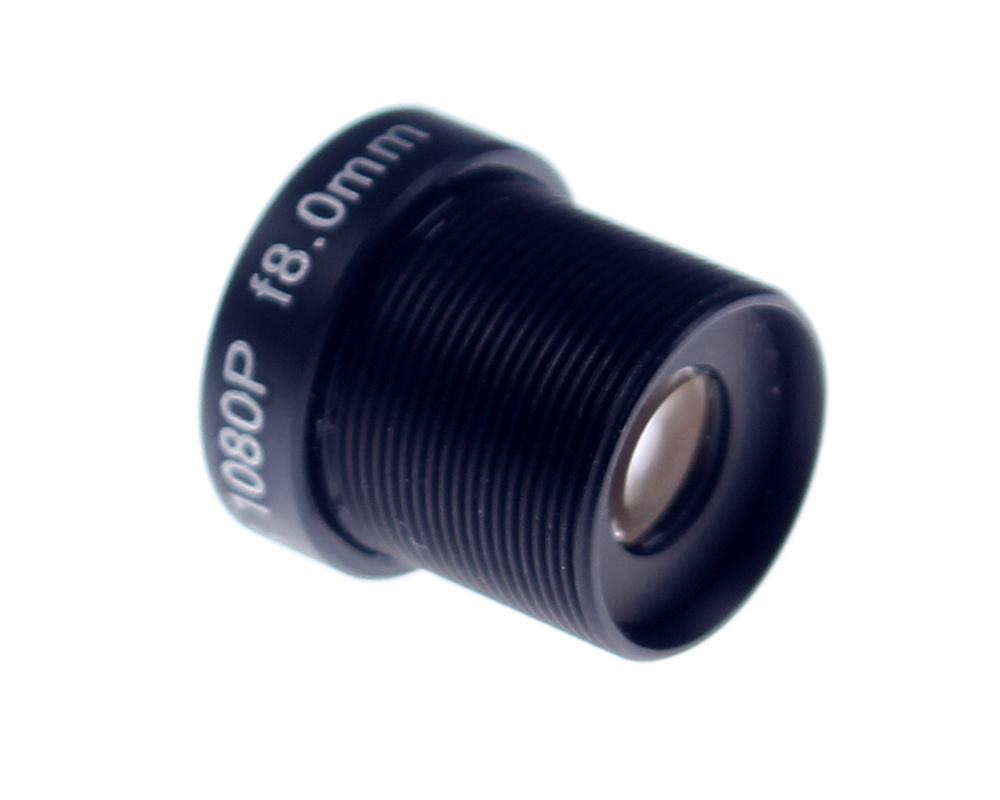 CCTV Lens 1080P 45degreee 1/2.7'' 8mm For HD Full HD CCTV Camera IP Camera M12*0.5 MTV Mount