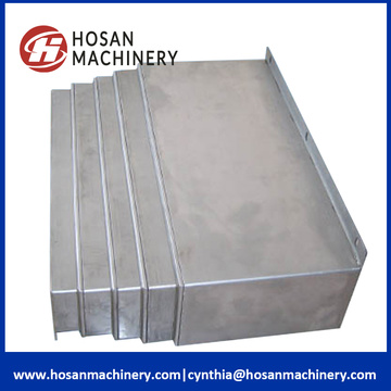 Milling Machine Protective Flat Dust Steel Bellow Covers