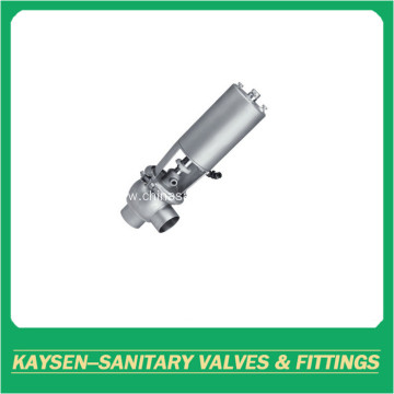 3A Sanitary pneumatic single seat divert valve