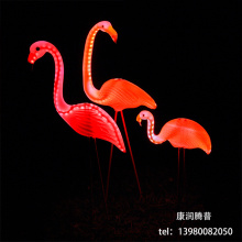 LED Flamingo Landscape Light