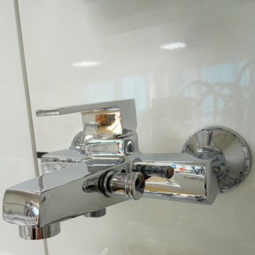 Chrome Brass Polish Finish Bathroom Shower&Bathtub Mixer