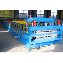 Cold Double Deck Corrugated Roof Sheet Making Machine