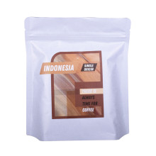 custom printing ziplock stand up coffee packaging pouch