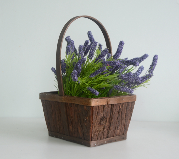 rectangular wood bark collecting basket-4