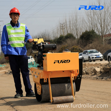 Small Hand Roller Compactor with High Power Hydraulic Pump