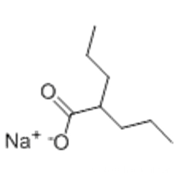 Pentanoic acid,2-propyl-, sodium salt (1:1) CAS 1069-66-5