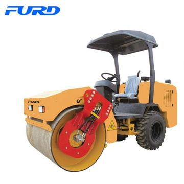3 ton mini driving road roller vibration roller compactor Factory Price FYL-D203