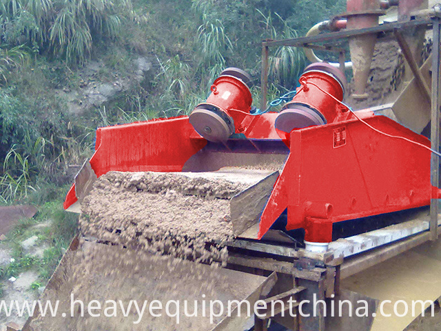 Sand Washing And Dewatering Equipment