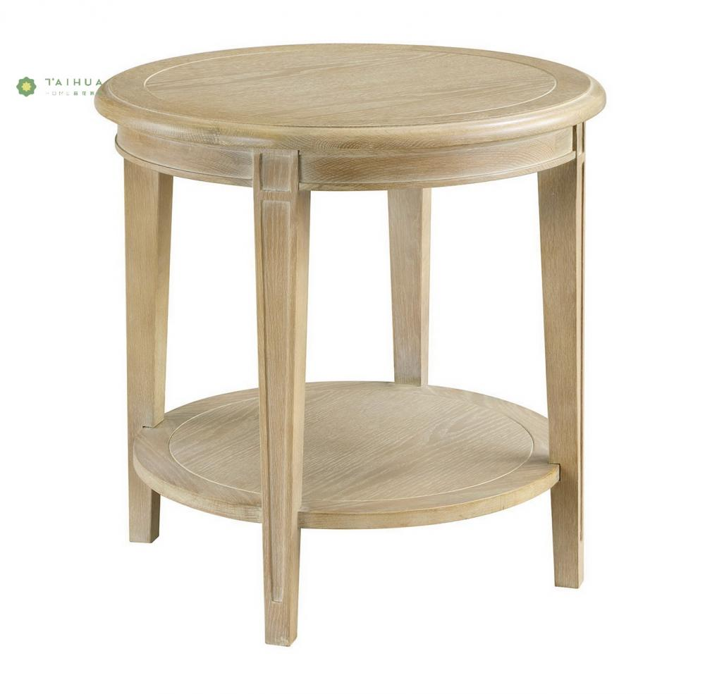 Full Solid Wood End Table