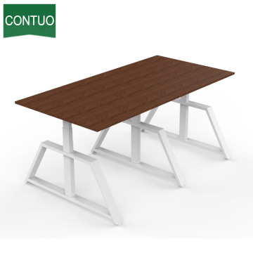 Modern Style Adjustable Height Table Meeting Desk Frame