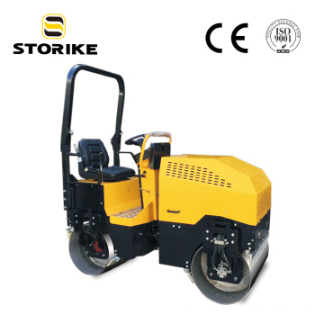 1.5 Ton Fully Hydraulic Road Roller Compactor EPA