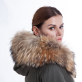 Fashion Parker coat fur liner