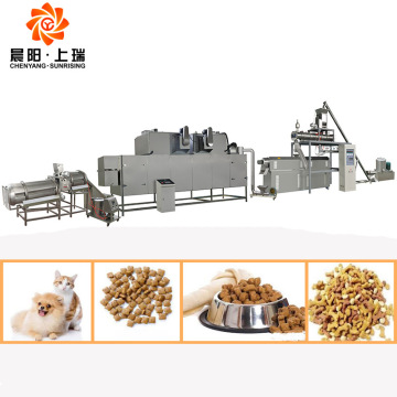 Dog food extruder machine dog food machines