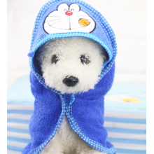 Puppy pet drying bath towel