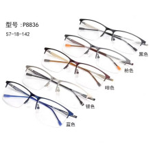 Square Half Frame Optical Glasses for Man