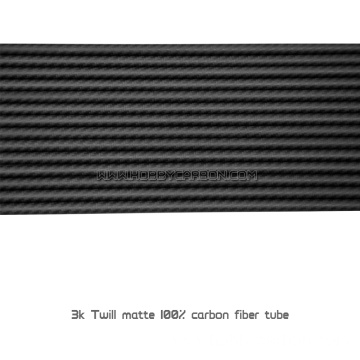 Small Diameter 5mm 3k Carbon Fiber Tubes