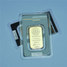 Business Gift Sealed Package With Independent Serial Number Gold Plating Is Not Magnetic Souvenir Collection