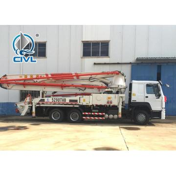Energy Saving 48m Boom Concrete Pump Truck