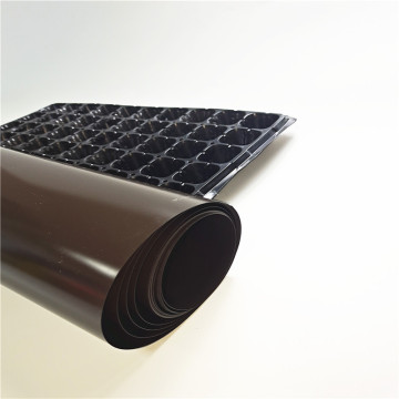 PVC film for medical tray packing