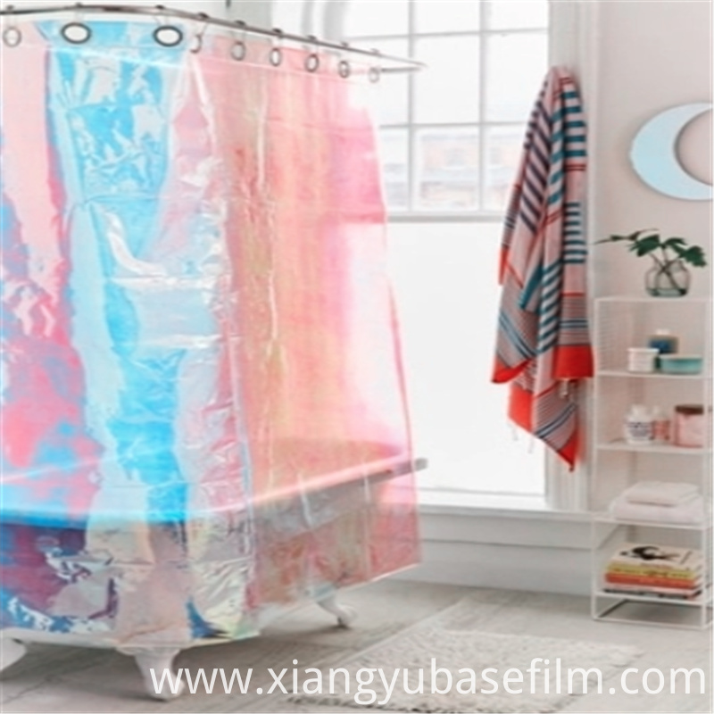 Bathroom Curtains Adorn Pet Rainbow Decorating Base Film 3