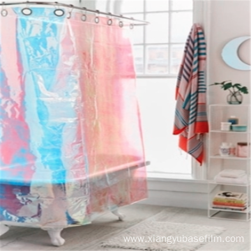 Bathroom Curtains Adorn PET Rainbow Decorating Base Film