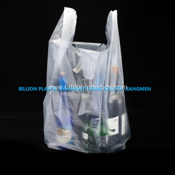 Transparent HDPE Vest Bag