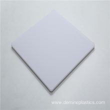 Milky white polycarbonate led light diffuser sheet