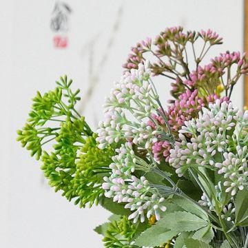 New Artificial flower branch plastic Pistachio fake plants for home party DIY wedding decoration flower arrangement supplies