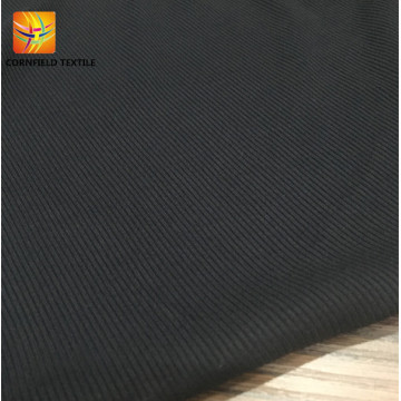 Regular product black dyed rib fabric for clothes