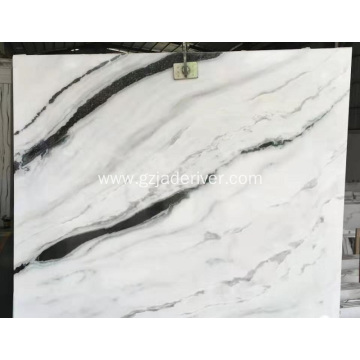 Panda White Marble Stone with Black Veins