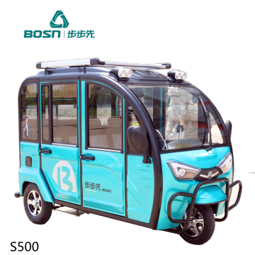 Electric Passenger Tricycle For Adults Max Body