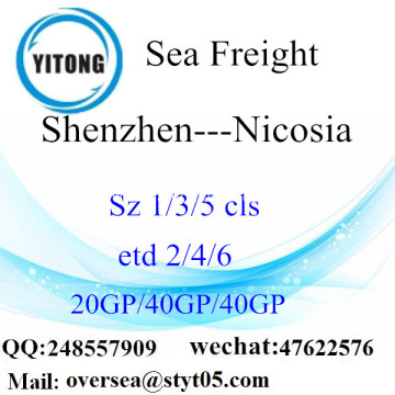 Shenzhen Port Sea Freight Shipping To Nicosia