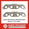 Toyota 4AFE Exhaust Manifold Gasket 17173-15010