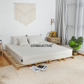 Silver cotton Earthed Conductive pillowcase for sleep